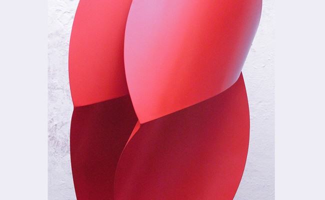 Obra en Acero rojo